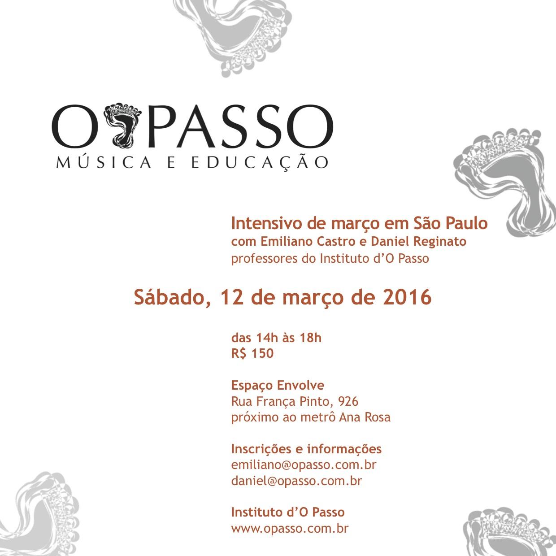 CURSO O Passo MAR16